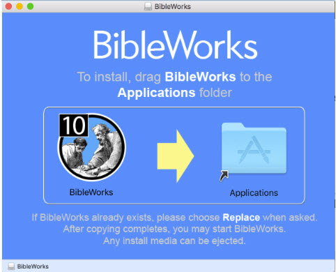 How Do I Install, or Uninstall, the BibleWorks 9 or 10 Mac Installer